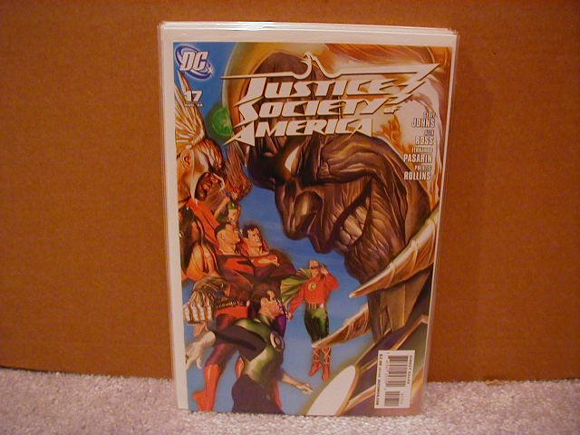 JUSTICE SOCIETY OF AMERICA #17 NM (2008)