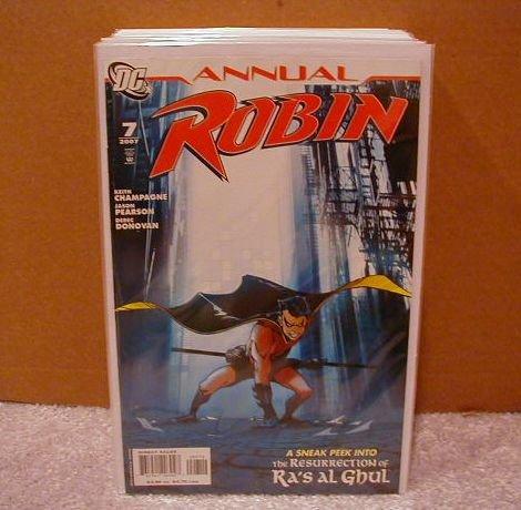 ROBIN ANNUAL #7 NM (2007) SNEAK PEEK OF RESURRECTION OF RA�S AL GHUL