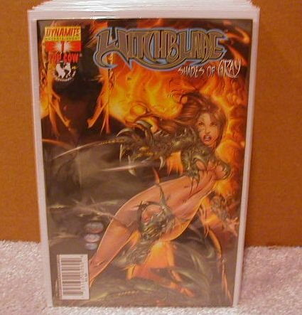 WITCHBLADE SHADES OF GRAY #1 NM  �A� COVER
