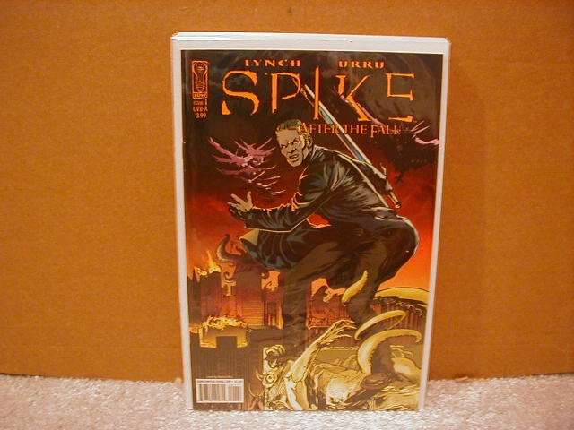 SPIKE AFTER THE FALL #1 NM (2008) COVER �B�