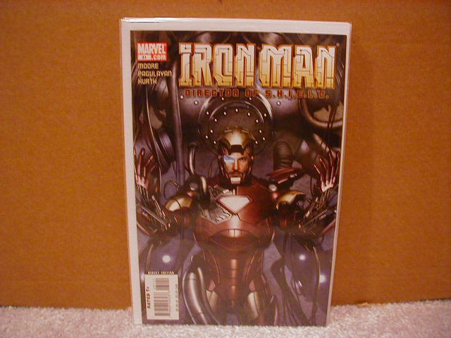 IRON MAN DIRECTOR OF SHIELD #31 NM (2008)