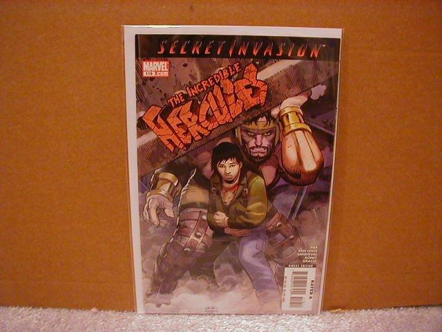 INCREDIBLE HERCULES #119 NM (2008) SECRET INVASION