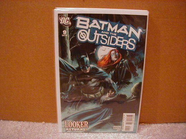 BATMAN AND THE OUTSIDERS #9 NM(2008)