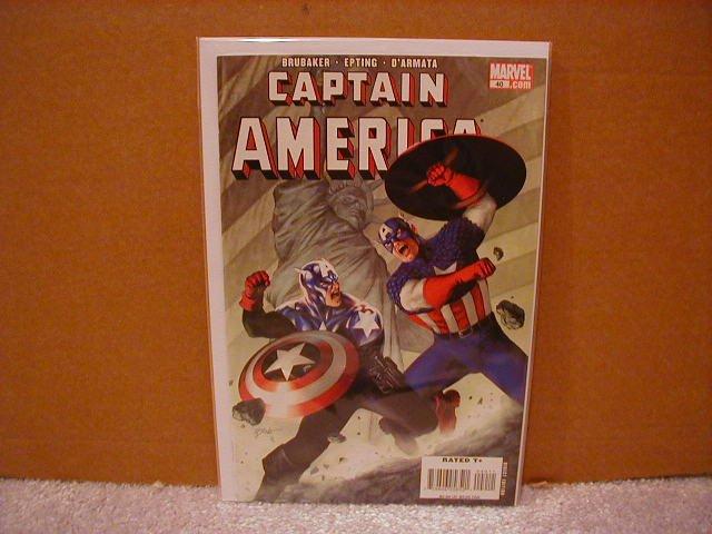 CAPTAIN AMERICA #40 NM (2008)