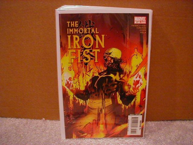 IMMORTAL IRON FIST #17 NM (2008)