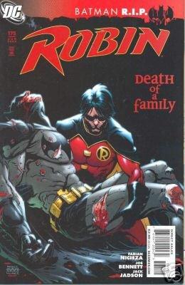 ROBIN #175 NM (2008)BATMAN R.I.P.