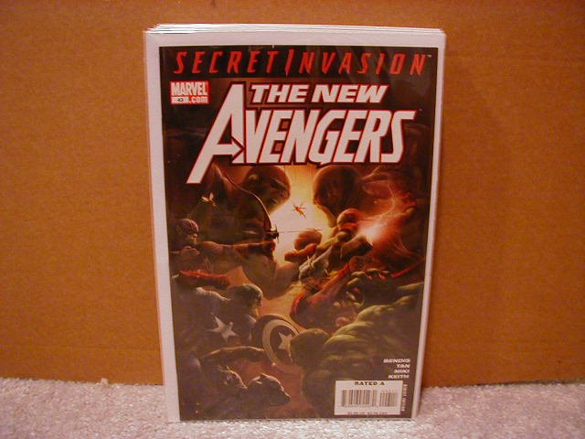 NEW AVENGERS #43 NM (2008) SECRET INVASION