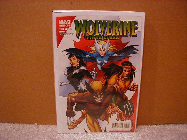 WOLVERINE FIRST CLASS #5 NM (2008)