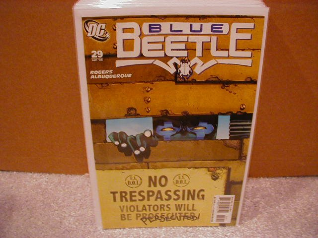 BLUE BEETLE #29 NM (2008)