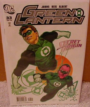 GREEN LANTERN #33 NM (2008) SECRET ORIGINS & SINESTRO
