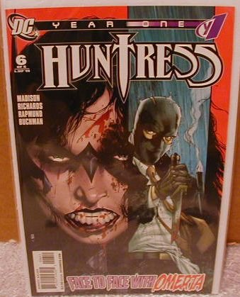 HUNTRESS YEAR ONE #6 NM (2008) FINAL ISSUE!