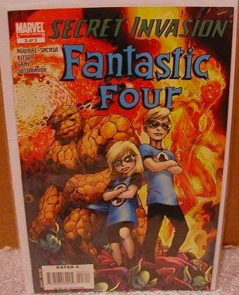 SECRET INVASION FANTASTIC FOUR #3 NM (2008)