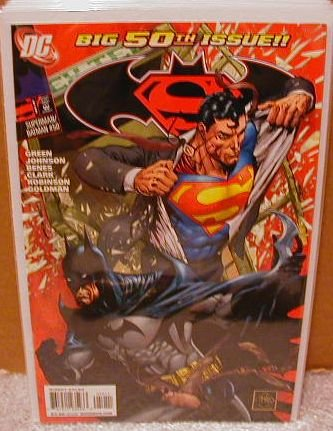SUPERMAN BATMAN #50 NM (2008)