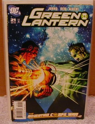 GREEN LANTERN #21 VARIANT COVER �SINESTRO CORPS WAR PART 2�