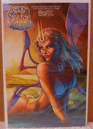 ASPEN SPLASH SWIMSUIT SPECTACULAR 2007 WIZARD WORLD CHICAGO EXCLUSIVE COVER �C�