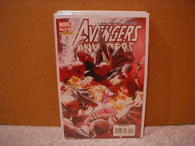 AVENGERS INVADERS #4 NM (2008)