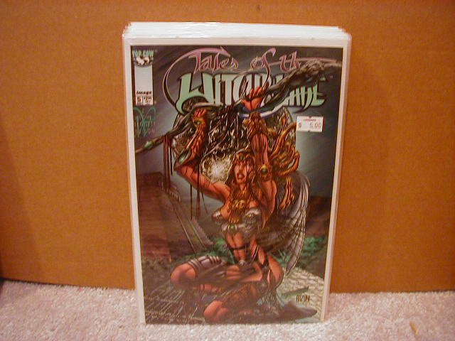 TALES OF THE WITCHBLADE #5 VF/NM  IMAGE/TOP COW