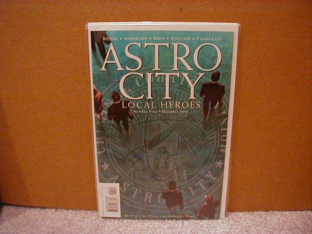 ASTRO CITY LOCAL HEROES  #4  VF/NM