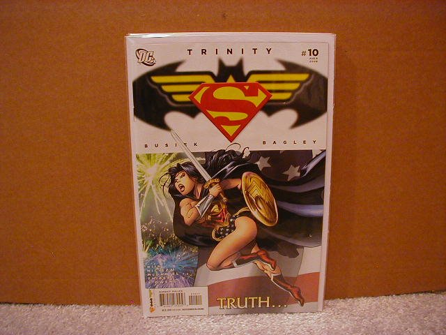 TRINITY #10 NM (2008) SUPERMAN, BATMAN & WONDER WOMAN