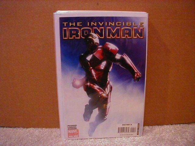 INVINCIBLE IRON MAN #4 NM (2008) VARIANT 1ST PRINT