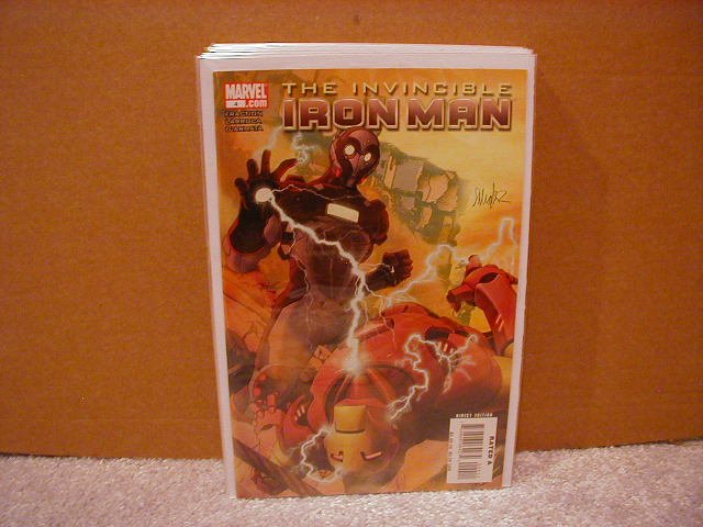 INVINCIBLE IRON MAN #4 NM (2008)