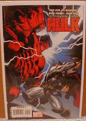 HULK #5 NM (2008) THOR VS. RED HULK ROUND #1