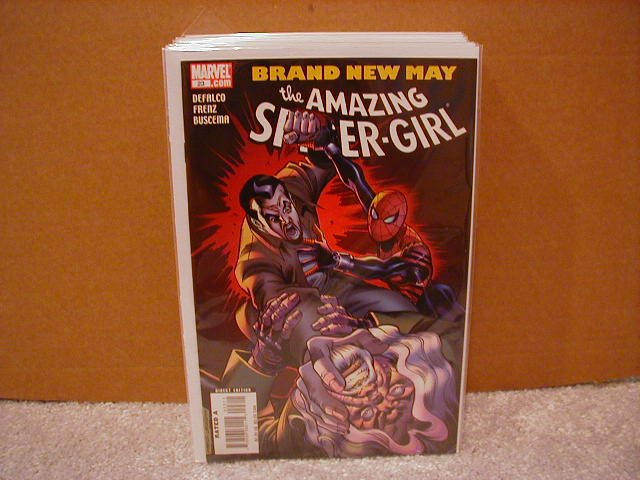 AMAZING SPIDER-GIRL #23 NM (2008)
