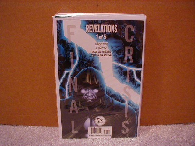 FINAL CRISIS REVELATIONS #1 NM (2008)  �B� COVER