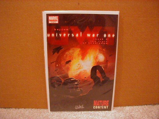 UNIVERSAL WAR ONE #2 NM (2008)