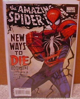 AMAZING SPIDER-MAN #568 NM (2008) NEW WAYS TO DIE-GREEN GOBLIN IS BACK- COVER �A�