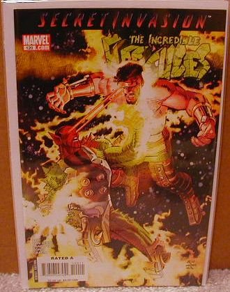 INCREDIBLE HERCULES #120 NM (2008) *SECRET INVASION*