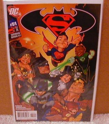 SUPERMAN BATMAN # 51 NM (2008)
