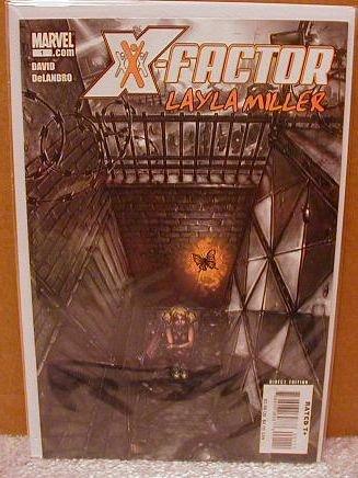 X-FACTOR LAYLA MILLER #1 NM (2008)