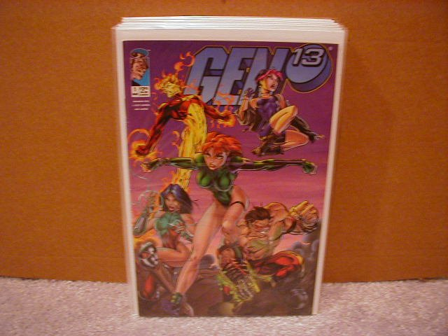 GEN 13 #1 F/VF (3/1995) CHARGE- COVER �A�