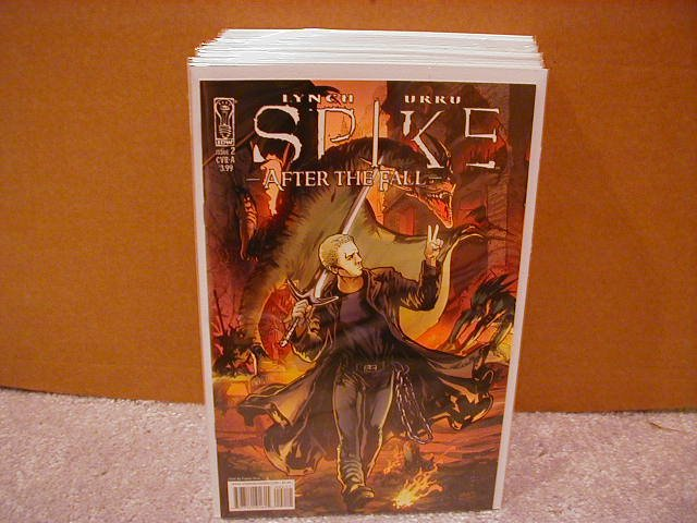"""SPIKE AFTER THE FALL #2 COVER """"A"""" (2008)"""