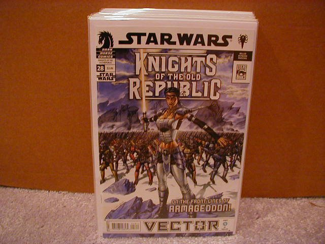 STAR WARS KNIGHTS OF THE OLD REPUBLIC #28 NM (2008) VECTOR PART 4