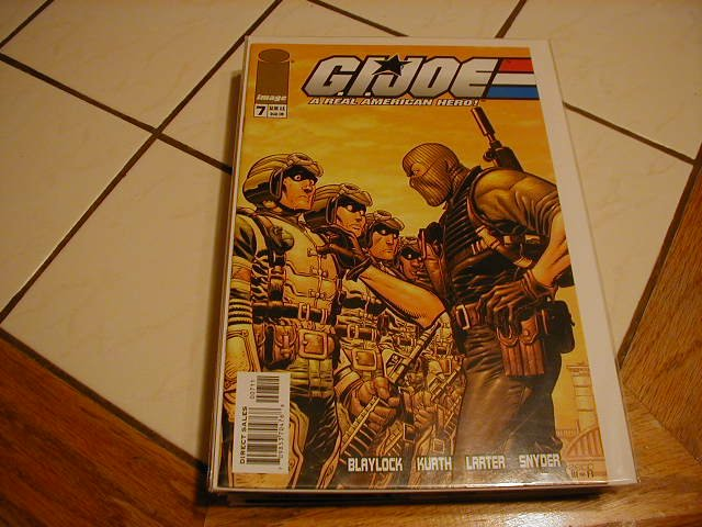 G.I. JOE #7  VF/NM  *IMAGE*