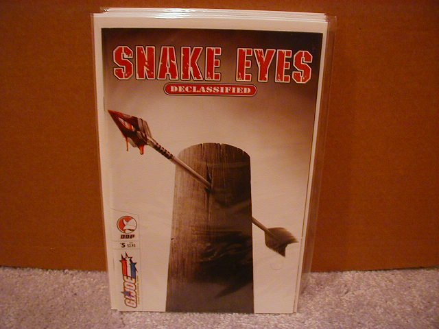SNAKE EYES DECLASSIFIED #5 VF/NM  *DDP* � G.I.JOE
