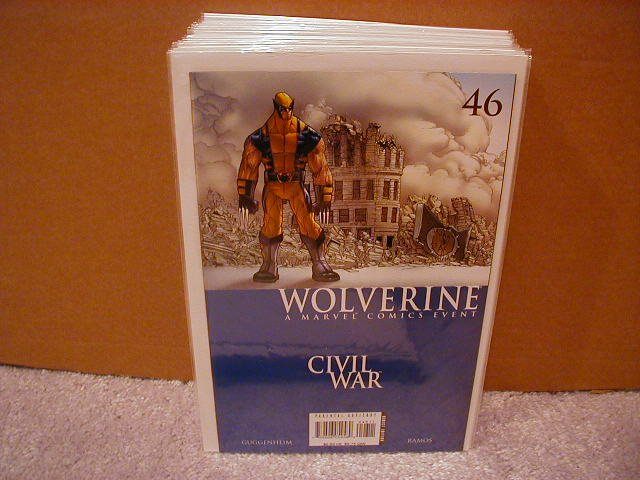 WOLVERINE #46 NM (2007)  **CIVIL WAR**