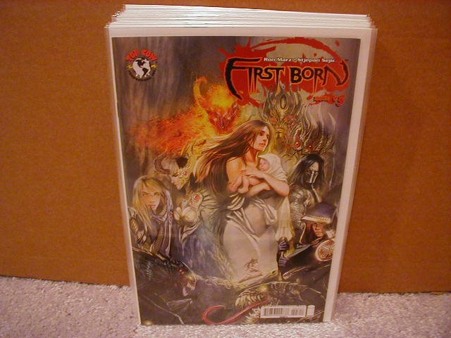 "FIRST BORN #3 ""A"" COVER NM WITCHBLADE/DARKNESS"