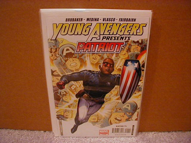 YOUNG AVENGERS #1 NM(2007) **PATRIOT**