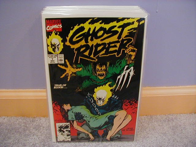 GHOST RIDER #7 VF/NM (1990)