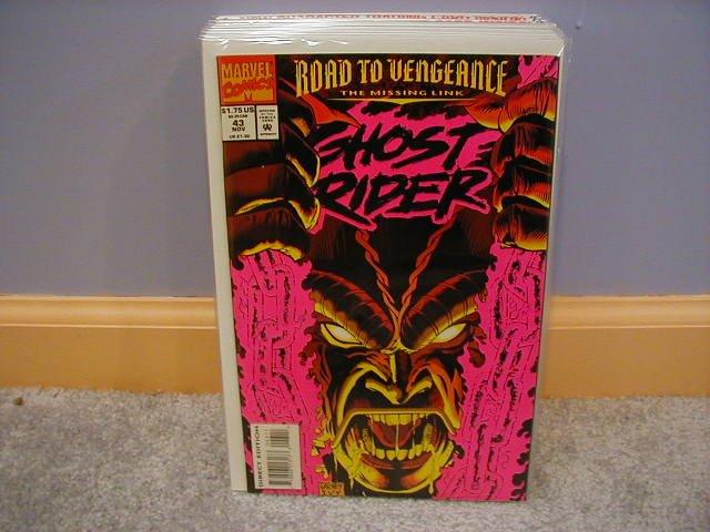 GHOST RIDER #43 VF/NM (1990)