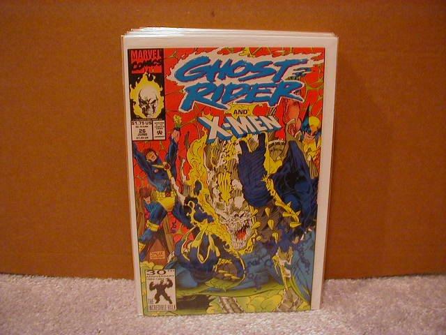GHOST RIDER #26 VF/NM (1990) X-MEN
