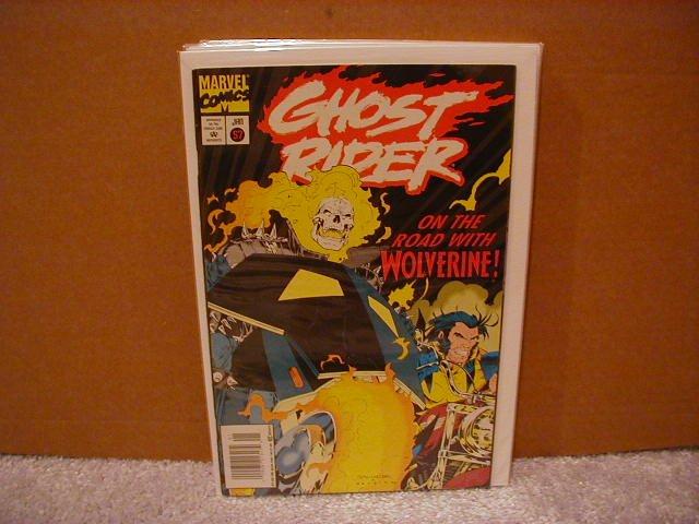 GHOST RIDER #57 F/VF (1990) WOLVERINE