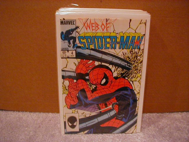 WEB OF SPIDER-MAN #4 VF/NM