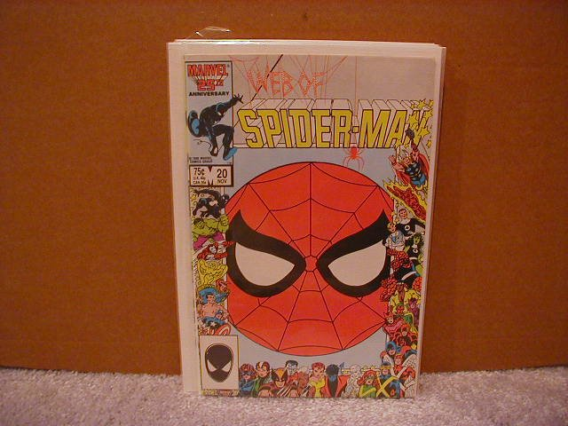 WEB OF SPIDER-MAN #20 VF/NM