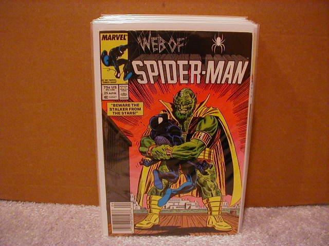 WEB OF SPIDER-MAN #25 VF