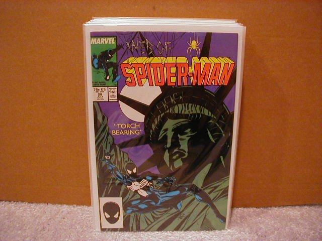 WEB OF SPIDER-MAN #28 F/VF