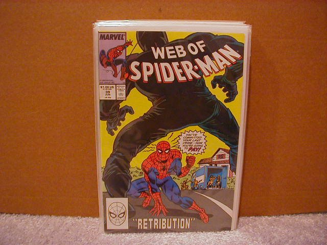 WEB OF SPIDER-MAN #39 VF/NM